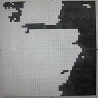 Fernando Pessoa: Pintura Quadrículas 5