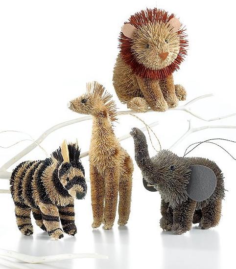 MARTHA MOMENTS Marthas Buri Animal Ornaments