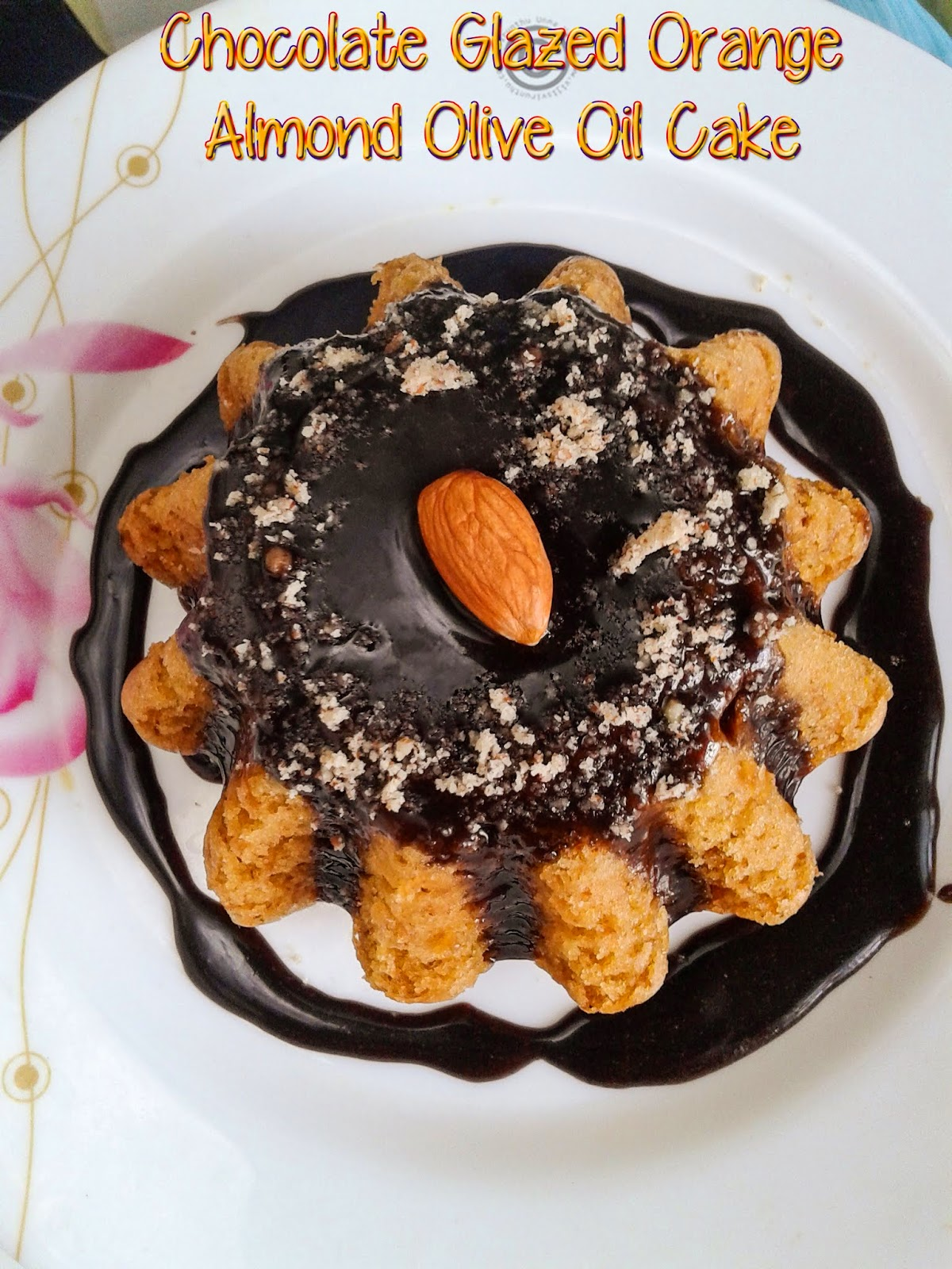 eggless-cake-with-chocolate-glaze