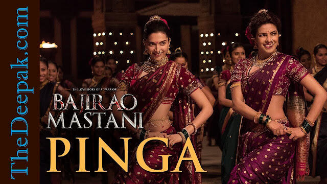Pinga | Video Song Lyrics | Deepika Padukone, Priyanka Chopra | Bajirao Mastani