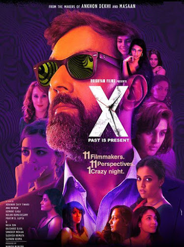 Poster Of Bollywood Movie X Past Is Present 2015 Full Hindi Movie 100MB WebHD HEVC Mobile Free Download
