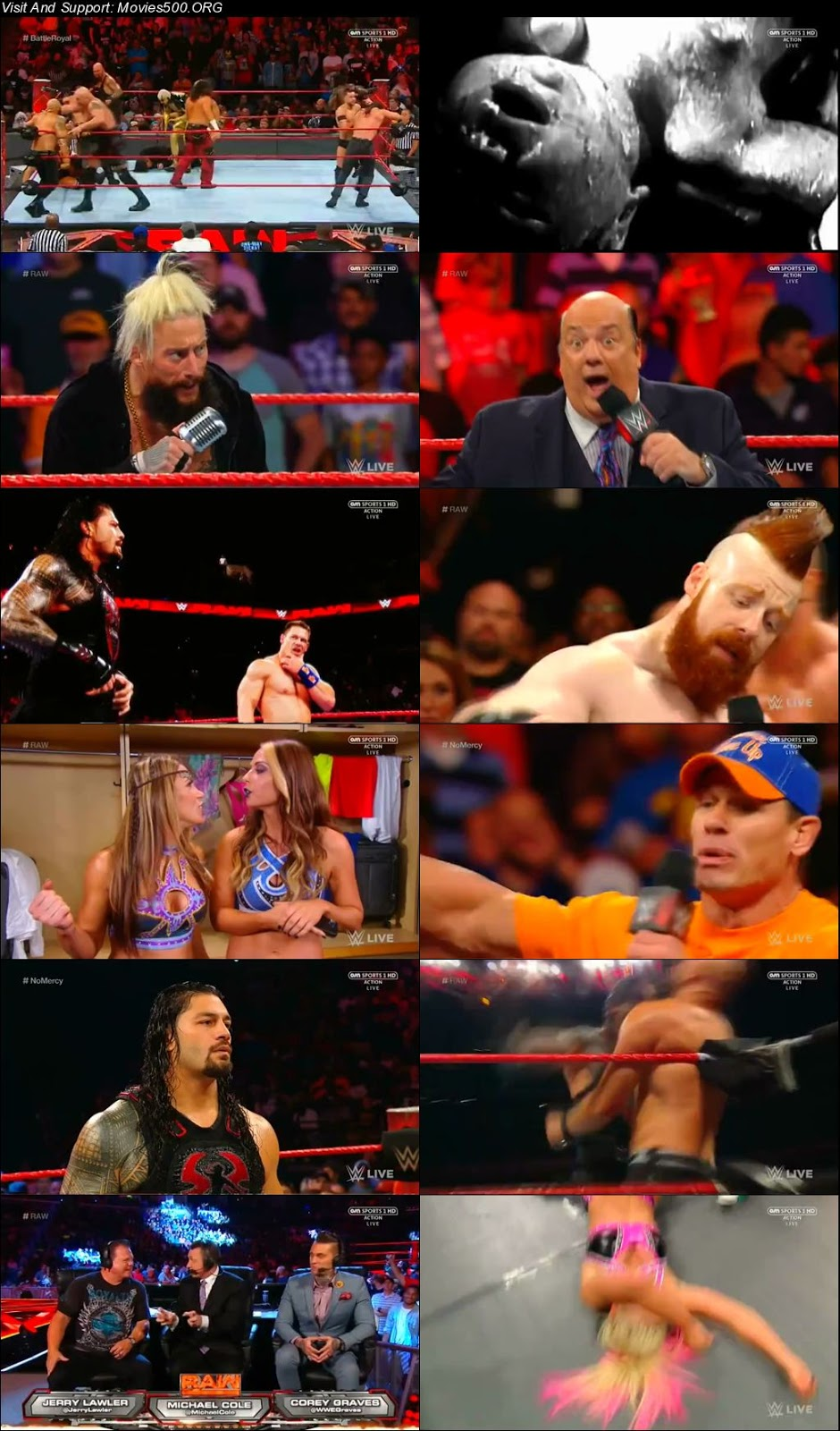 WWE Monday Night Raw 28 August 2017 Wrestling Show 720p at xcharge.net