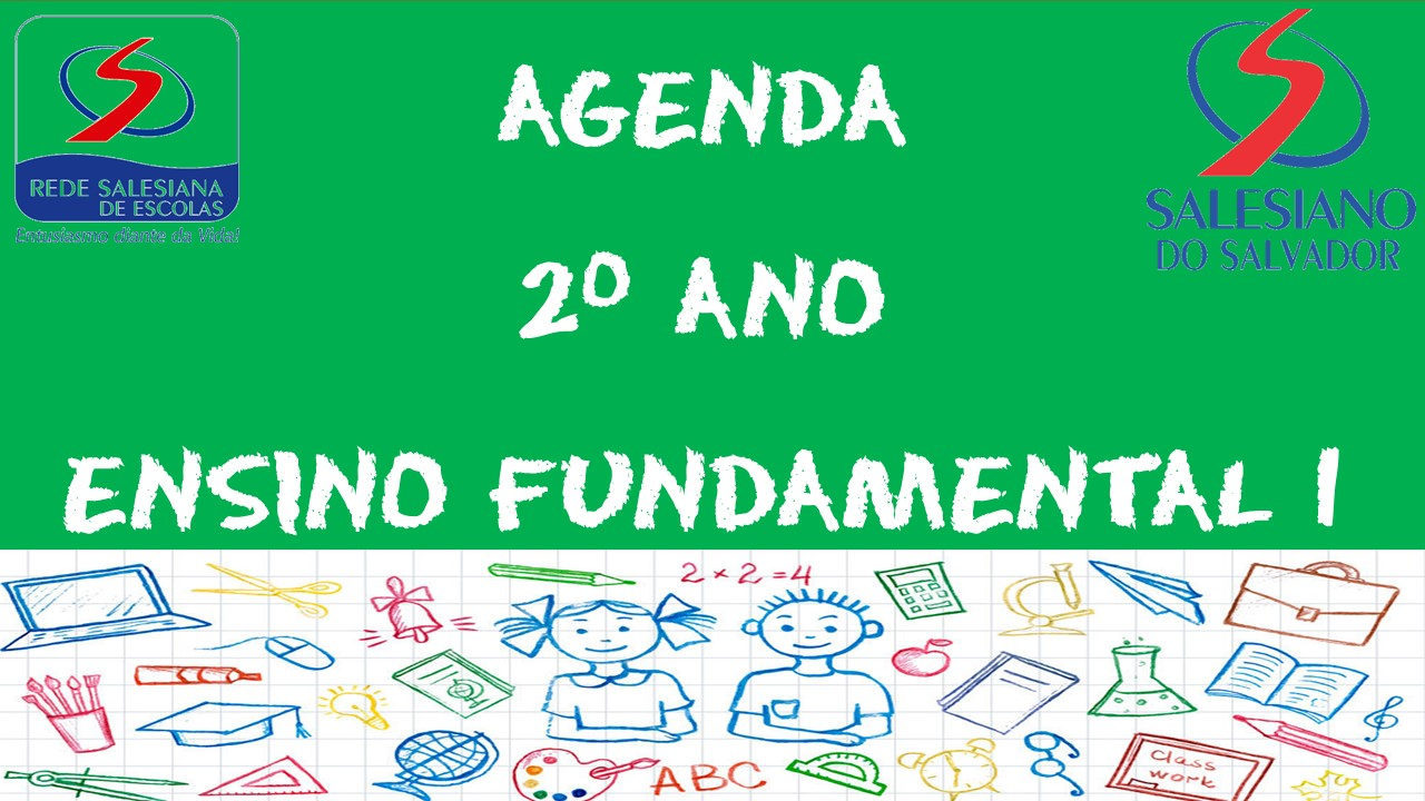 AGENDA 2º ANO ENSINO FUNDAMENTAL 1