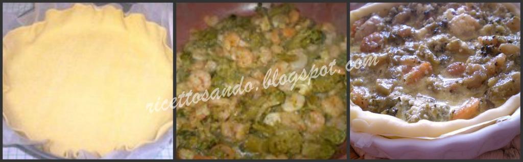 Quiche di gamberetti e broccoli ricetta di torte salate farcite
