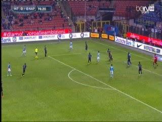 اهداف مباراة انتر ميلان ونابولى 2-2 - الدورى الايطالى 19-10-2014 Inter Milan - Napoli