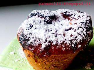 tipo muffin ma con l'impasto delle madeleine