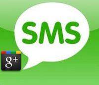Google+ SMS