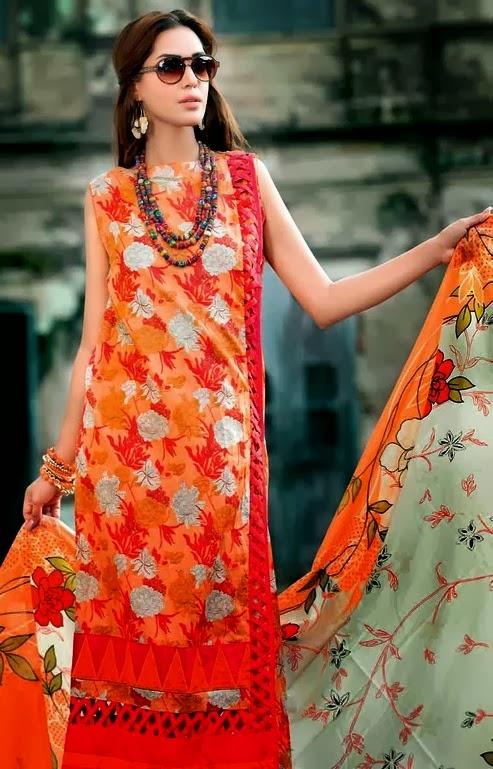 Printed Lawn Dresses