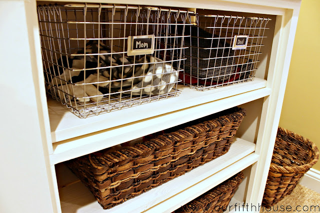 mudroom organization