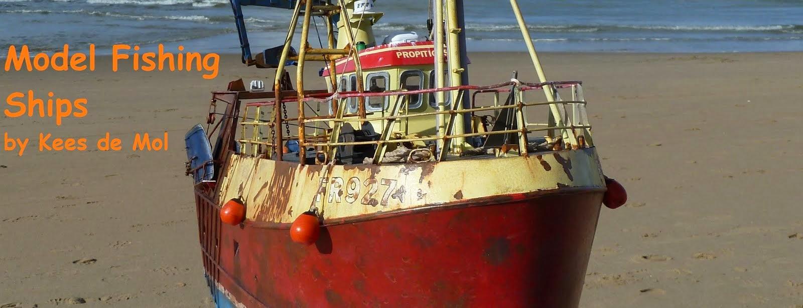 Model Fishing Ships