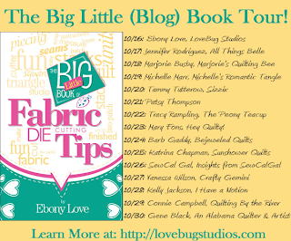 Fabric Die Cutting Tips blog tour