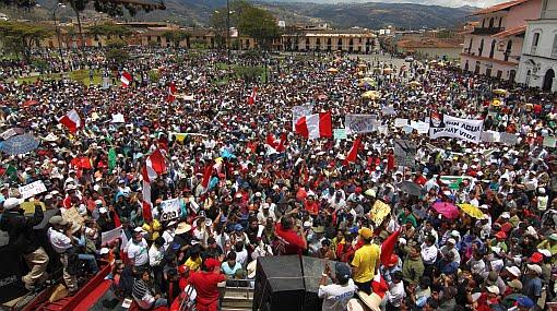 Estado de emergencia en Cajamarca fue declarado oficialmente