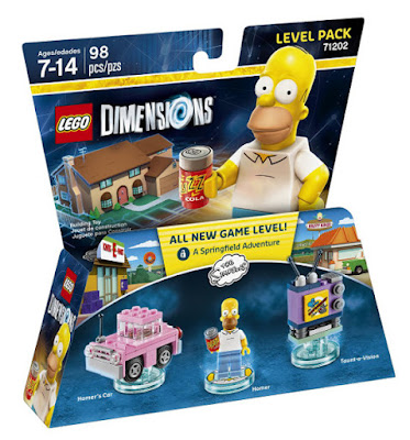 JUGUETES - LEGO Dimensions  71202 Simpsons : Level Pack : Homer  Piezas : 98 | Edad: 7-14 | Comprar en Amazon