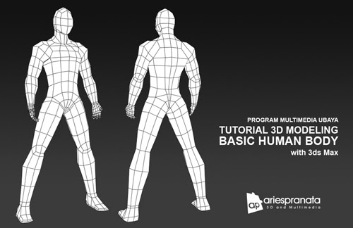 Tutorial 3D Modeling: Basic Human Body with 3ds Max