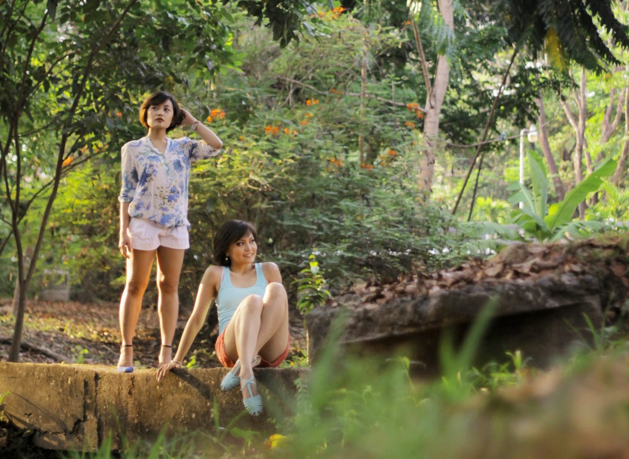 zara outfit, sisters, photoshoot, summer, floral