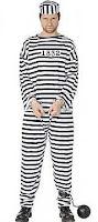 фото арестант в полосатой робе