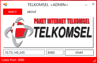 Inject Telkomsel Admin 16 September 2014