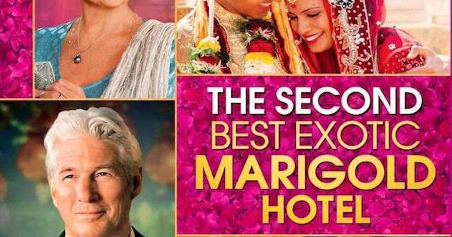 NIXPIX - DVD & BLU-RAY Reviews: THE SECOND BEST EXOTIC MARIGOLD HOTEL: Blu-ray (Fox Searchlight ...