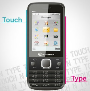 Micromax X312 Touch And Type Phone
