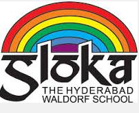 Sloka School Jubilee Hills Logo