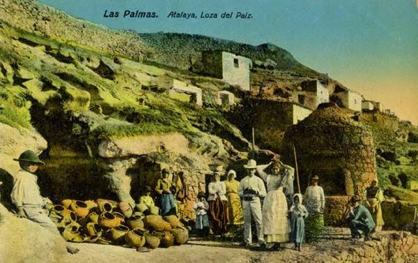 En el horno de Las Cañadas