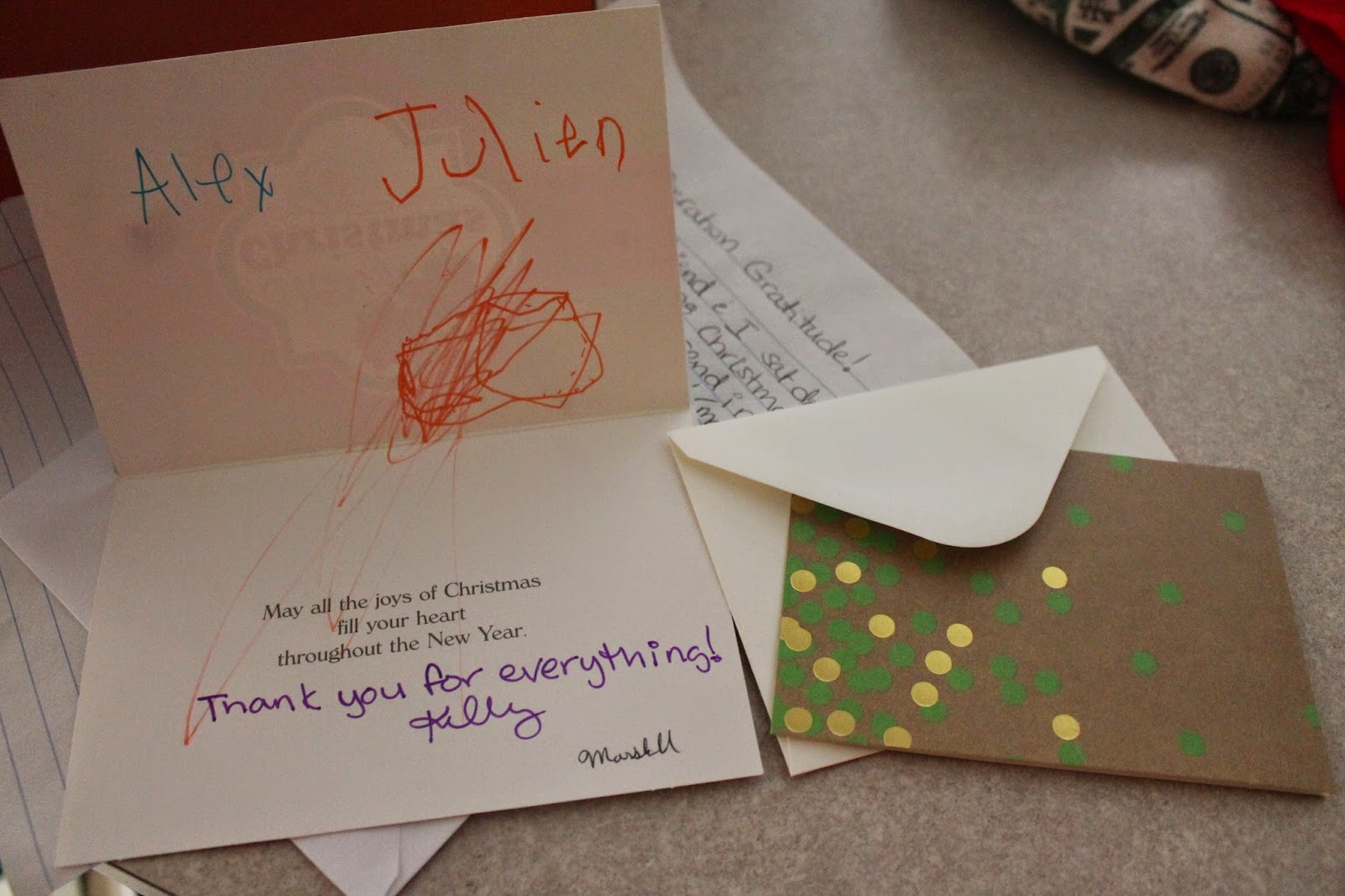 Elijah\'s Mom Changes The World: Christmas Cards for Soldiers