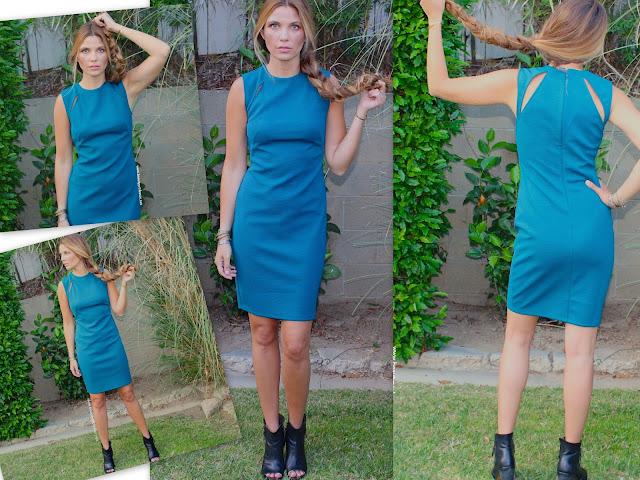 topshop splice dress