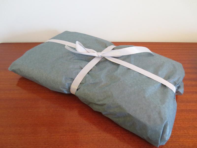 Vintagepaket i silkespapper