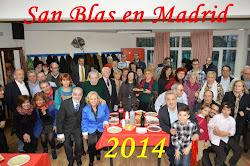 SAN BLAS EN MADRID 2014