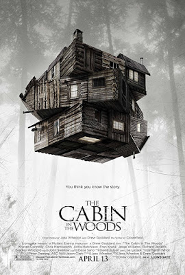 The Cabin in the Woods 2012 Dual Audio Hindi BluRay 150Mb hevc