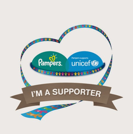 We Supported Pampers & Unicef