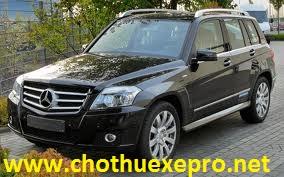 Cho thuê xe 7 chỗ Mercedes GLK Giá Rẻ tại Hà Nội