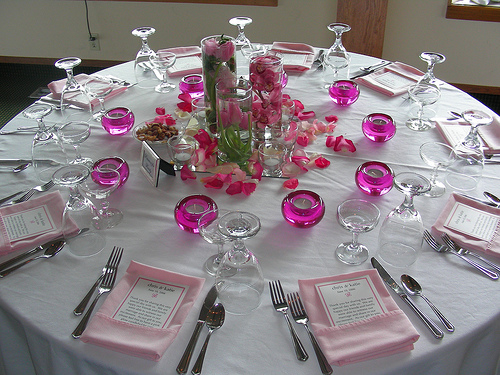 Music themed wedding centerpiece or party table lighted - Wedding Tables A Way Of Synchronizing The Whole View Of