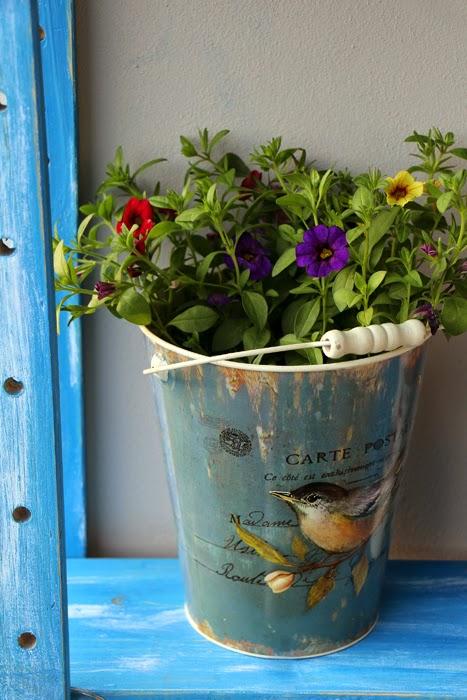 Balkon Regal Diy : DIY Regal und Balkonbepflanzung