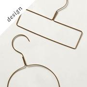 Display-Worthy Clothes Hangers | Remodelista