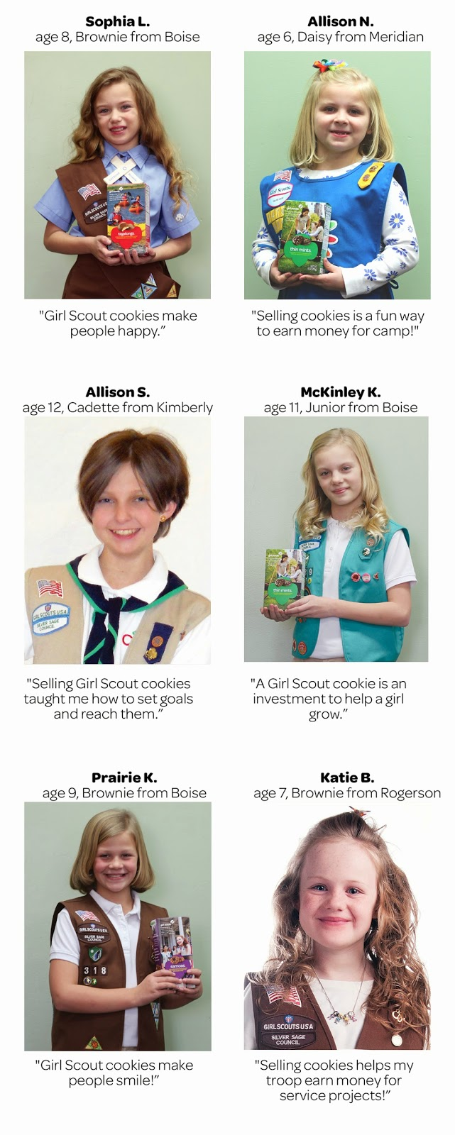 girl scouts of silver sage meet the 2014 girl scouts of