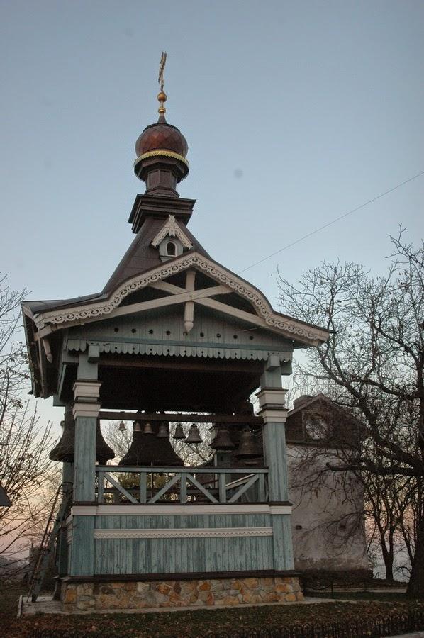 колокольня,Свято-Троицкий Ионинский монастырь