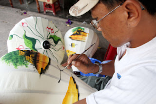 longdenhoian 03 Quy trình sản xuất đèn lồng Hội An  Đèn lồng Việt
