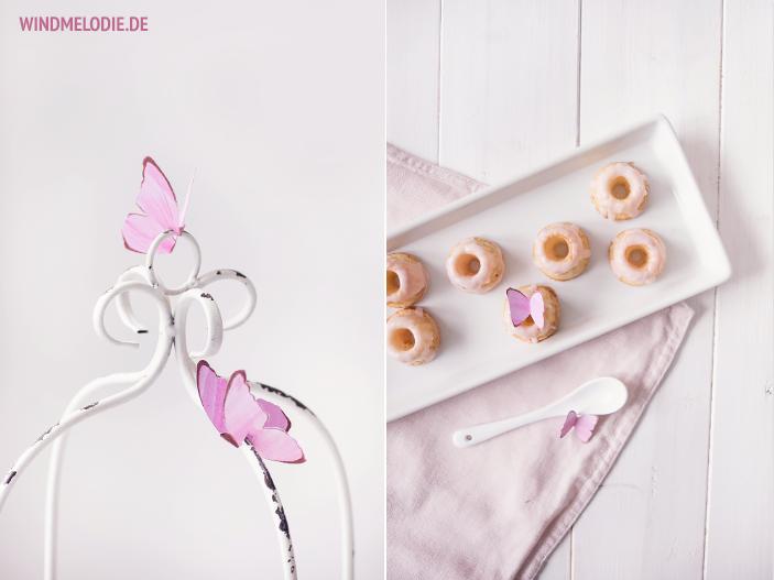 Vanille Mini-Gugl Rezept Schmetterlinge aus Papier