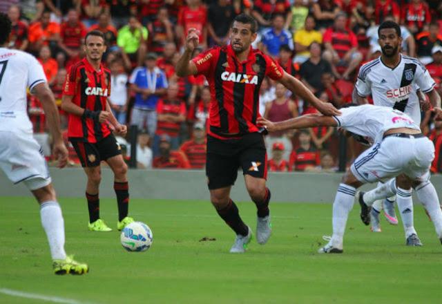 Empate contra Ponte Preta foi o sexto do Sport nos dez últimos jogos (Foto: Divulgação/Sport)