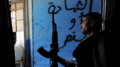 la proxima guerra espias britanicos y alemanes guian a rebeldes sirios