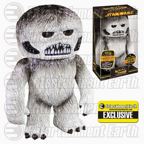 "Entertainment Earth Exclusive ""Grey Skull"" Wampa Star Wars Hikari Sofubi Vinyl Figure by Funko"