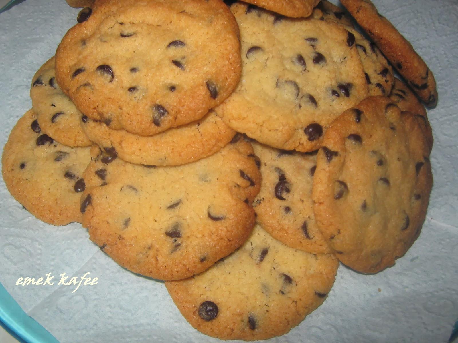 kurabiye,damla çikolata
