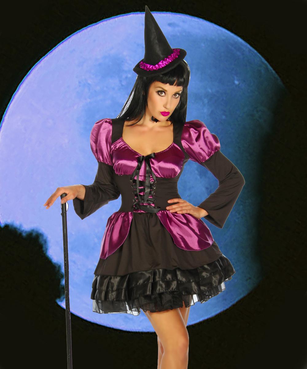 Halloween Hexen-Kostüm - My-kleidung Onlineshop | Online Shop für ...