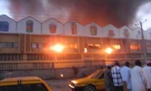Eleganza Plaza Engulfed By Fire 1