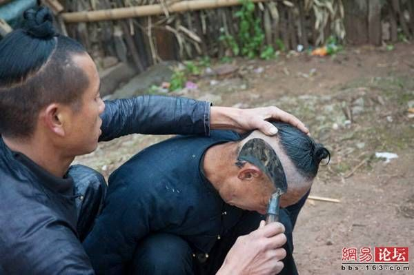 Crazy Haircut in China