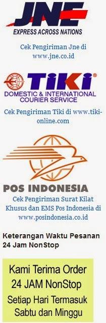 Jasa Kiriman yang digunakan: