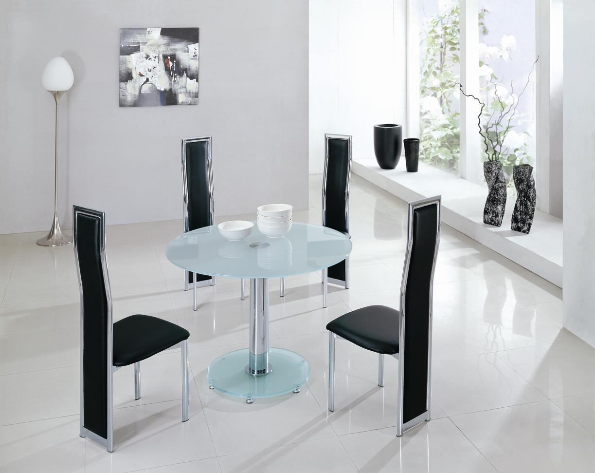 glass dining tables  mini round table gdt  gch xx xxglass black frosted clear  zoom: round white marble dining table