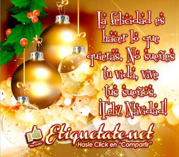 imágenes de Navidad con frases largas para dedicar