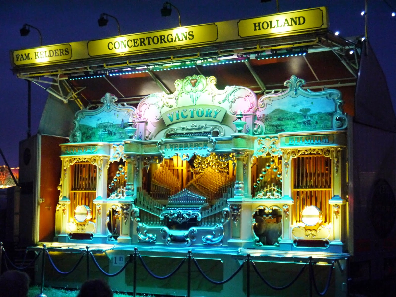 Great Dorset Steam Fair Victory Organ